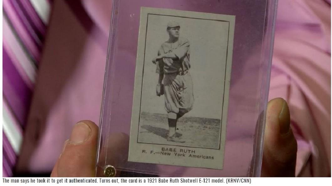 圖/翻攝自KAIT8 男花60元買棒球卡…驚覺「全球剩2張」價值秒飆上億