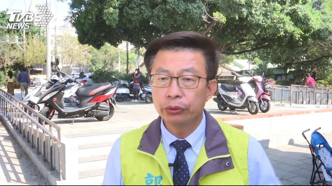 台南立委補選候選人郭國文。圖/TVBS