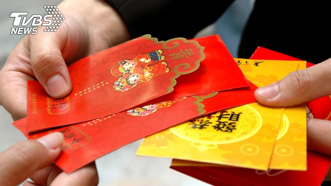 每到過年時刻,孩子們最開心的就是領紅包了。(示意圖/TVBS) 父幫存壓歲錢挪用1.4萬 兒怒告贏了「連本帶利討回」