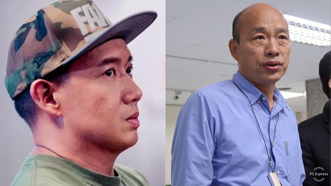 圖/翻攝自杜汶澤臉書、中央社 丟臉到香港?港星狠嗆韓國瑜「賽馬說」:煩不煩?
