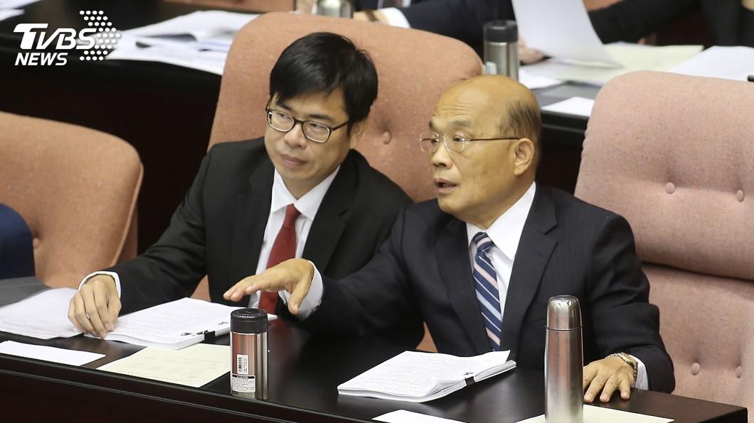 圖/中央社 柯文哲頻談國防 蘇貞昌:部長不用跟市長交鋒