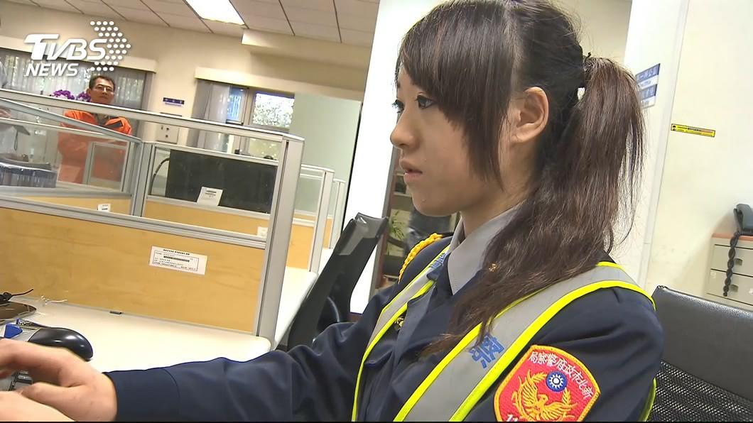 圖/TVBS 遭影射是不雅影片女主角! 警花蒐證提告