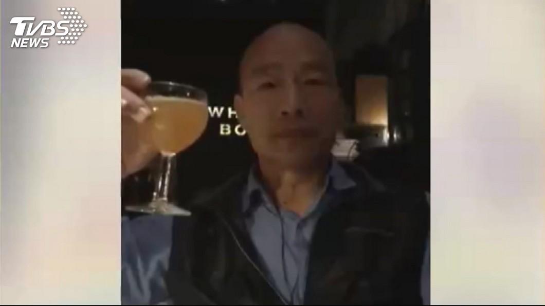 高雄市長韓國瑜。圖/TVBS資料畫面 有300天都在喝?他爆韓國瑜北農時期:中午就醉了!