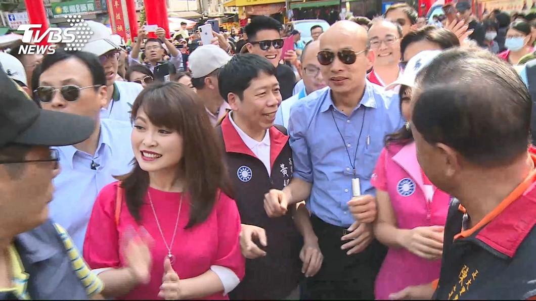 韓國瑜選後人氣不減。圖/TVBS資料畫面 看好韓國瑜行情!阿扁認證「總統級」:藍營太陽要靠他