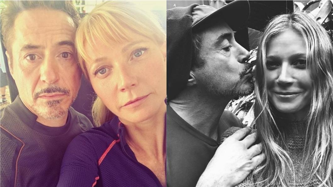 圖/翻攝自Gwyneth Paltrow Instagram 鋼鐵CP掰了...小辣椒曝演完《復仇4》將從漫威退休