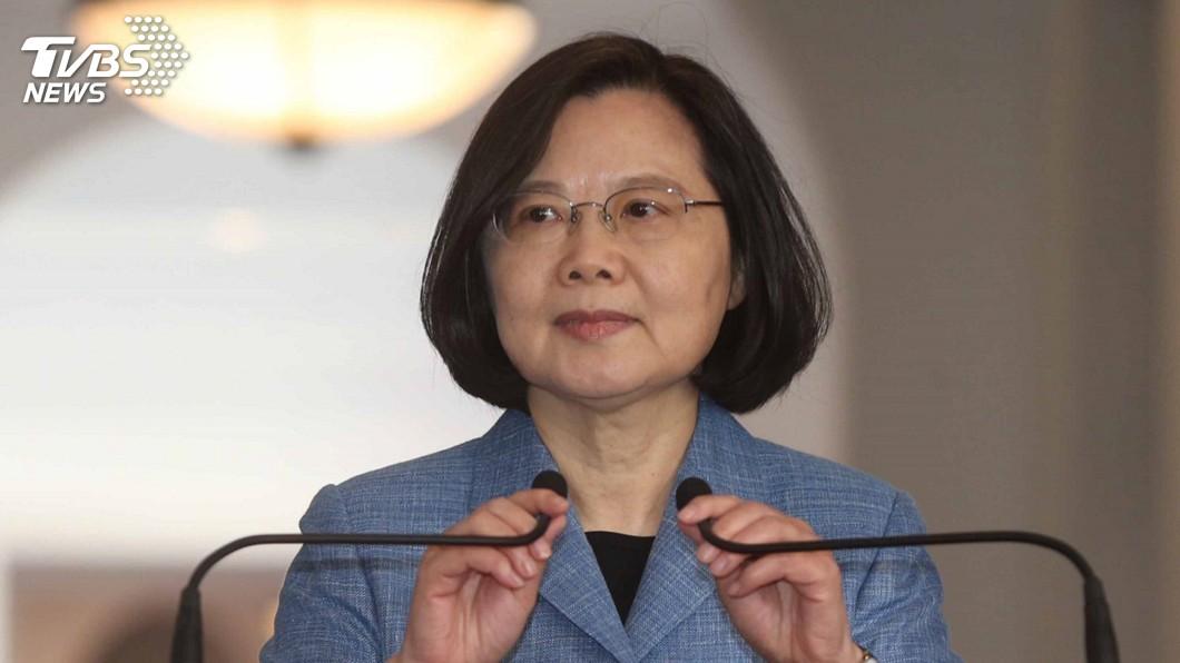 圖/中央社 競選連任 蔡總統:讓世代台灣人有自由意志選擇