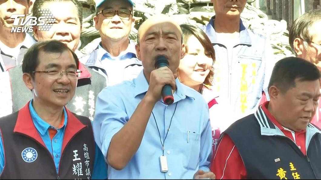 圖/TVBS 韓國瑜得提防 王世堅:國民黨「宮鬥」沒人性