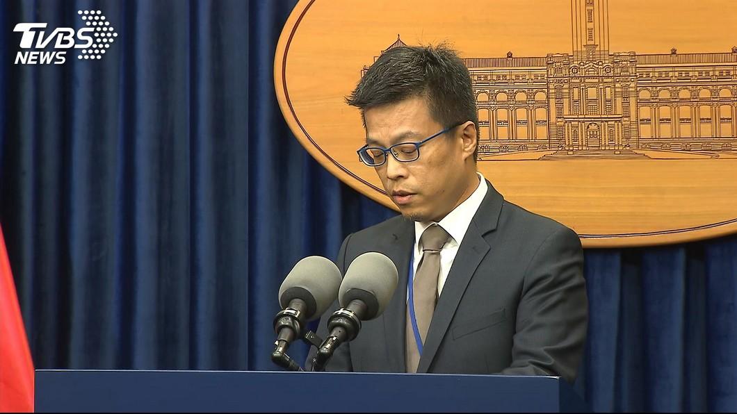總統府發言人黃重諺。圖/TVBS 府發言人嗆韓「土包子」 他酸:綠營敗選原因的縮影