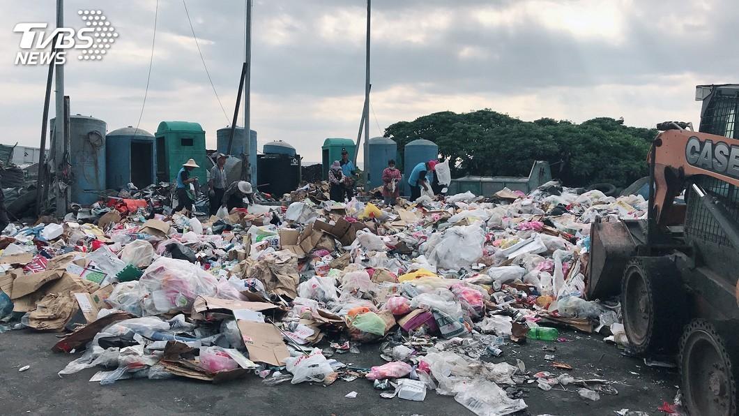 圖/中央社 利澤垃圾焚化廠歲修 花蓮垃圾處理恐生危機