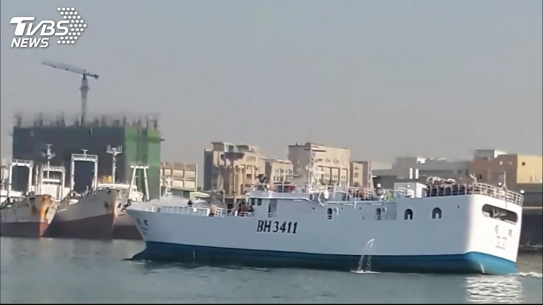 圖/TVBS資料畫面 穩鵬號漁船海上喋血 驚魂36小時台籍3人員跳海獲救