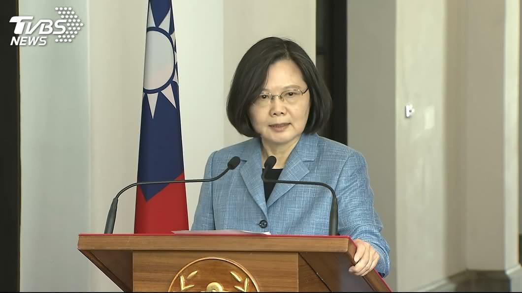 圖/TVBS 出席FBINA校友研習營 總統:台灣是可靠夥伴