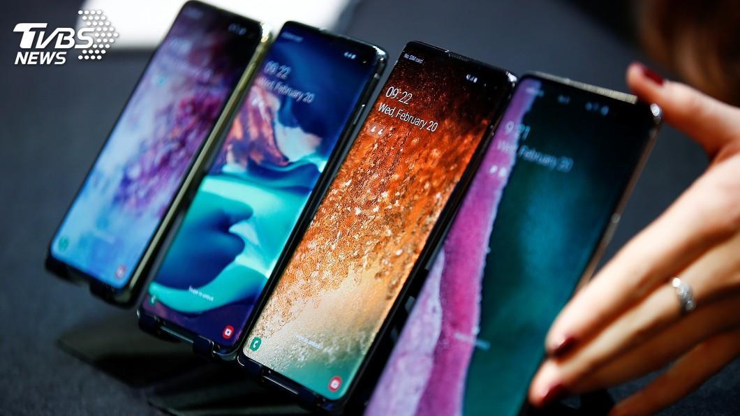 圖/達志影像路透社 三星Galaxy S10四機齊發 5G版也問世