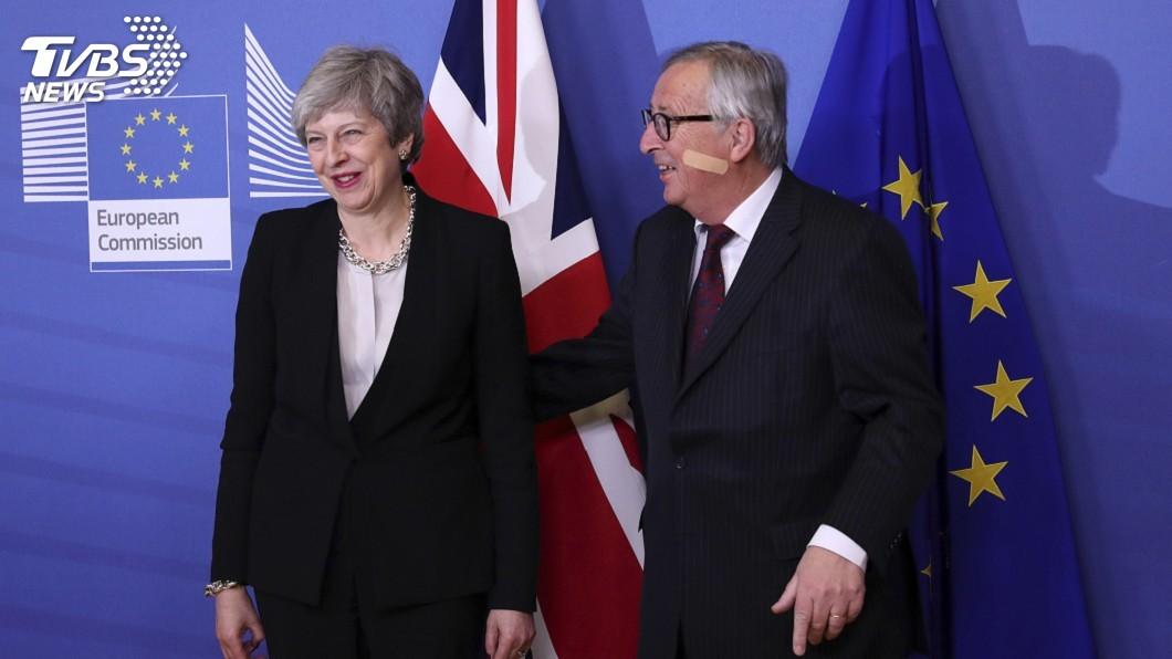 圖/達志影像美聯社 梅伊尋求脫歐出路 赴歐盟會談未見突破