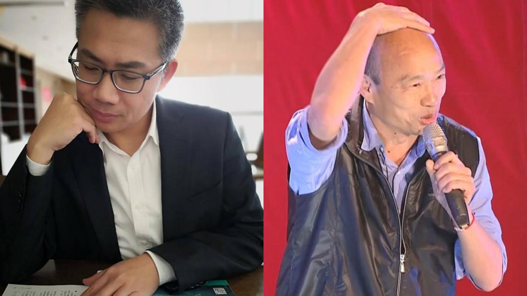 資深媒體人羅友志(左)、高雄市長韓國瑜(右)。圖/翻攝自羅友志臉書、TVBS 轟「他們」政治精神錯亂 名嘴:我挺韓國瑜選總統
