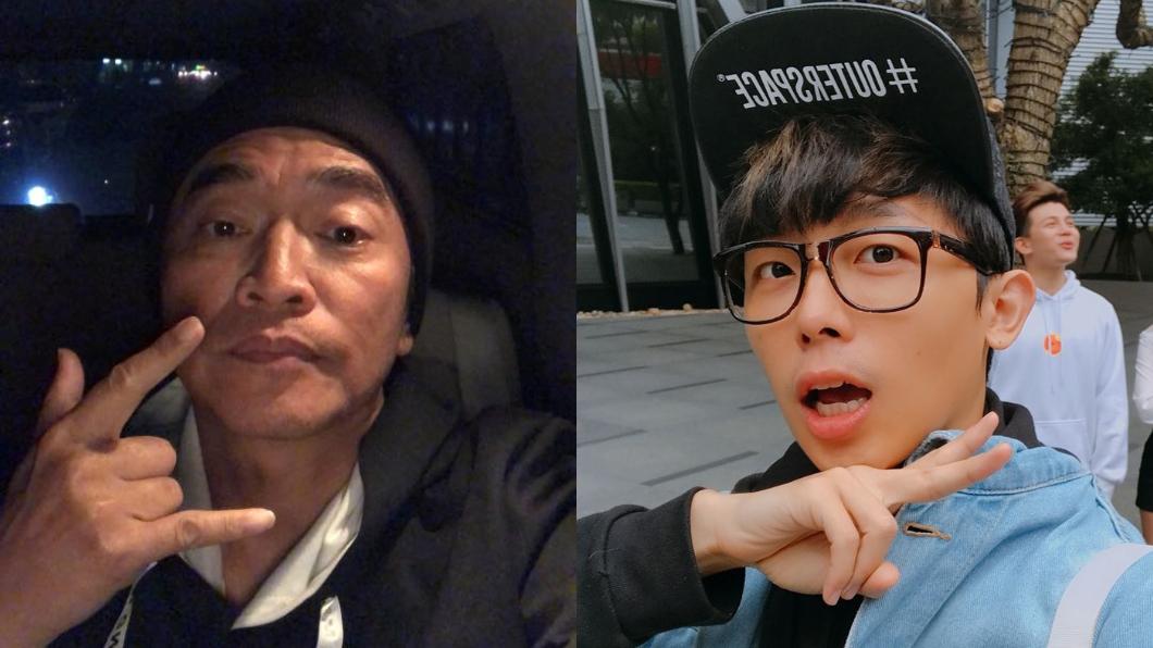 圖/翻攝自吳宗憲、酷炫臉書 問「這句」惹火吳宗憲! 酷炫被趕出場還遭嗆:支持轉行