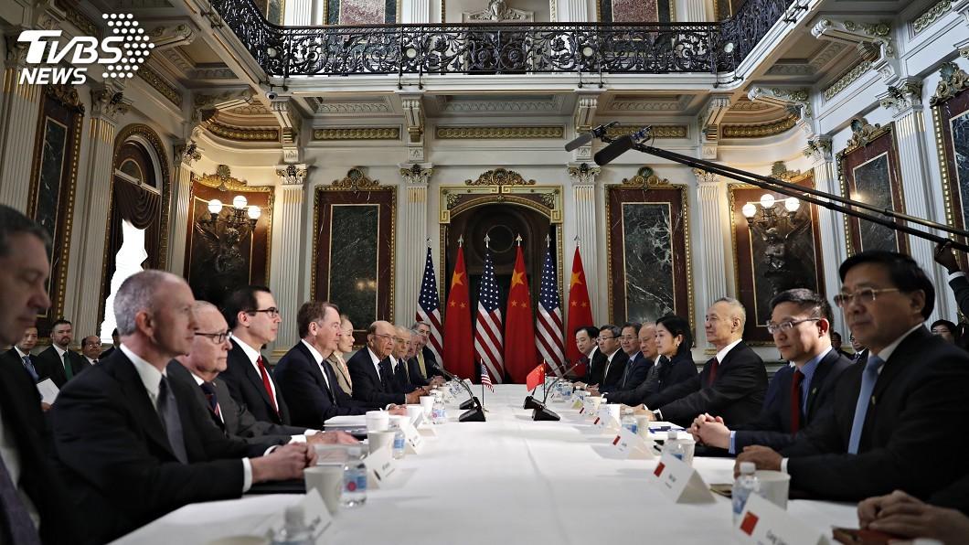 圖/達志影像美聯社 美中高階貿易談判登場 分析家指深遠目標難達成