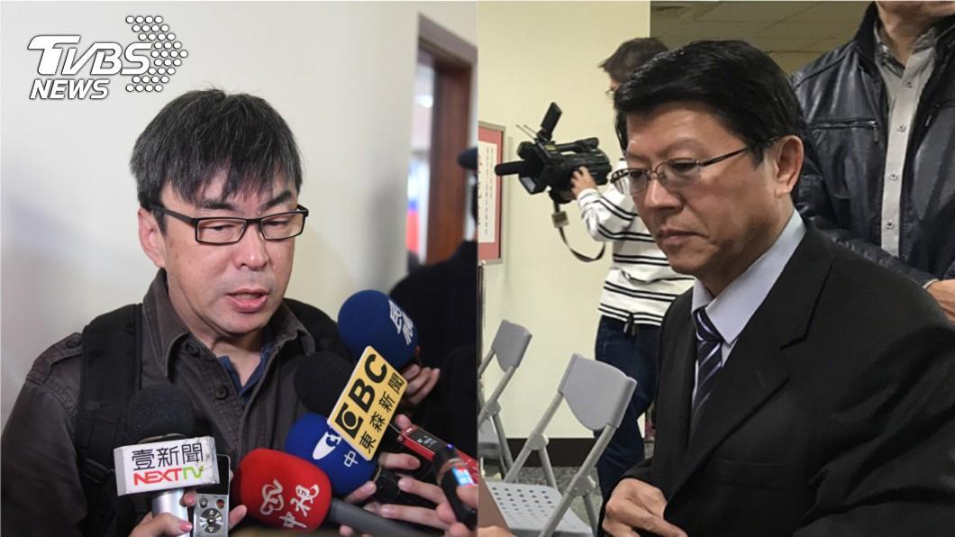 圖/中央社 就職未滿月就拚選立委 段宜康批謝龍介「先跟選民道歉」