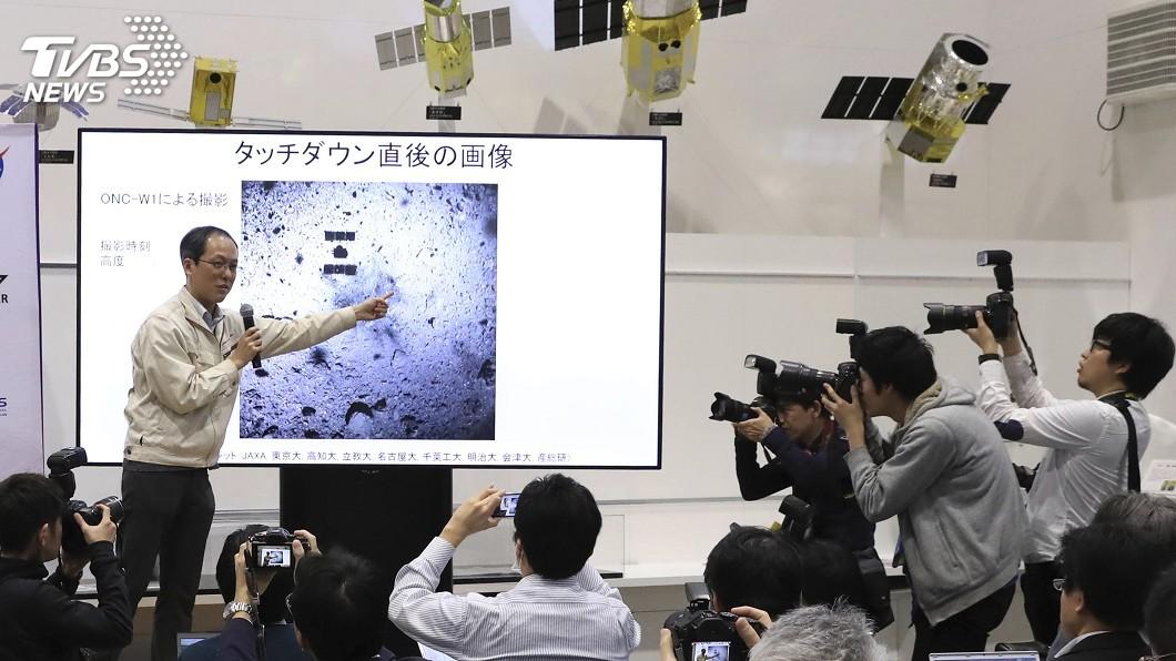 圖/達志影像美聯社 日本探測機「隼鳥2號」 成功登陸龍宮小行星