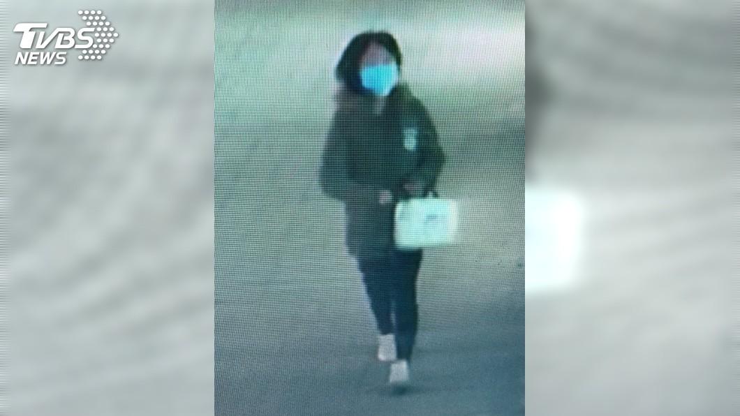 台南隨機捅人,凶嫌「口罩女」曝光。圖/TVBS
