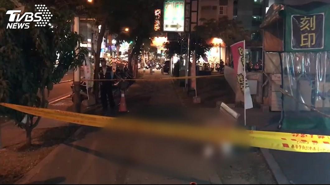 圖/TVBS 台南婦人當街遇刺案 凶嫌遭拘提到案