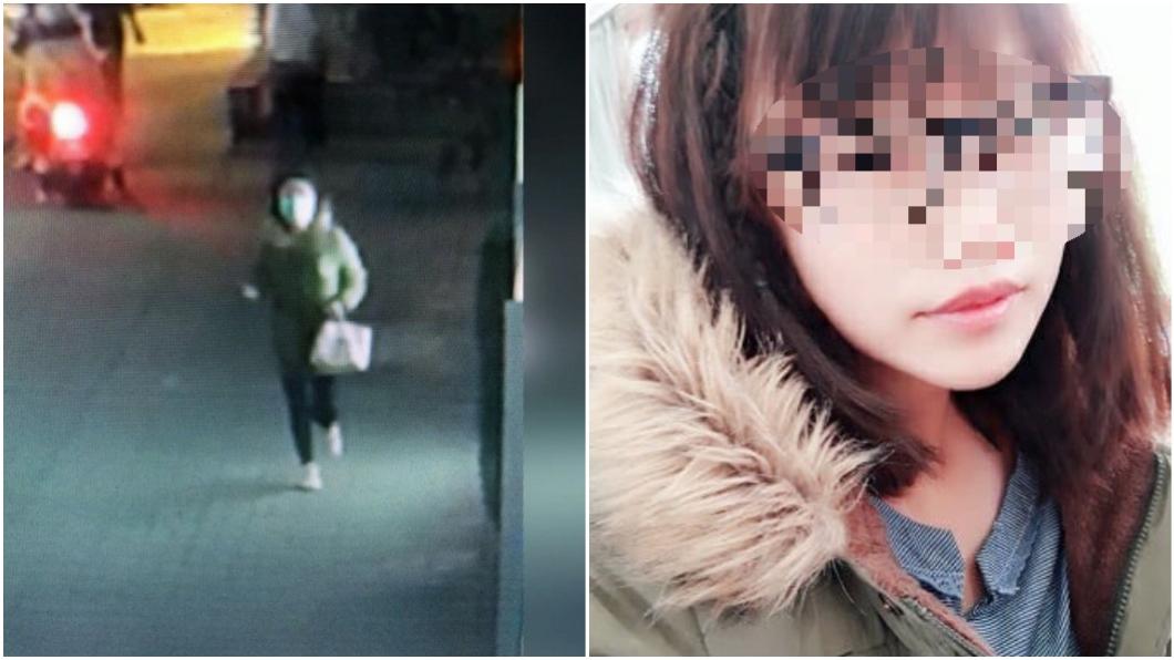 圖/(左)TVBS資料照,(右)翻攝林姓兇嫌臉書 無辜婦破肚!口罩女嫌美照曝 「嫩白眼鏡娘」超清純