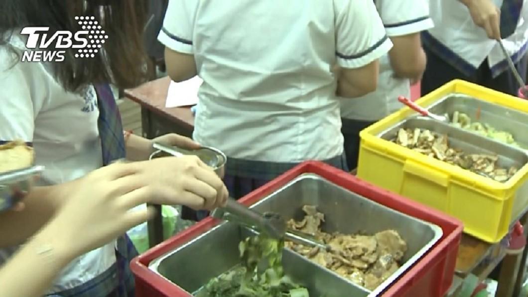 示意圖/TVBS 確保學童吃得健康 立委提案學校營養午餐專法
