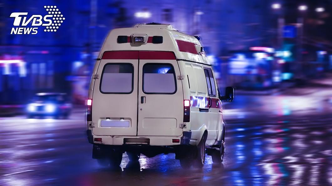 示意圖/TVBS 兒跌傷滿頭是血 父怨警未開道送醫遭轟