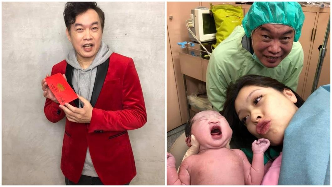 康康上月喜迎愛女,他提到妻子在懷孕生下女兒之前,其實經歷2次流產。(圖/翻攝自康康臉書) 愛女滿月…康康爆妻曾流產2次:洗澡下體掉出「仙草」