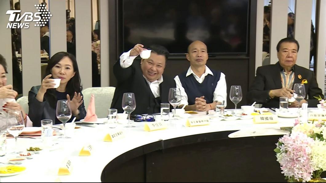 圖/TVBS 韓國瑜沒見到吉隆坡市長 林濁水酸:你儂我儂行得通