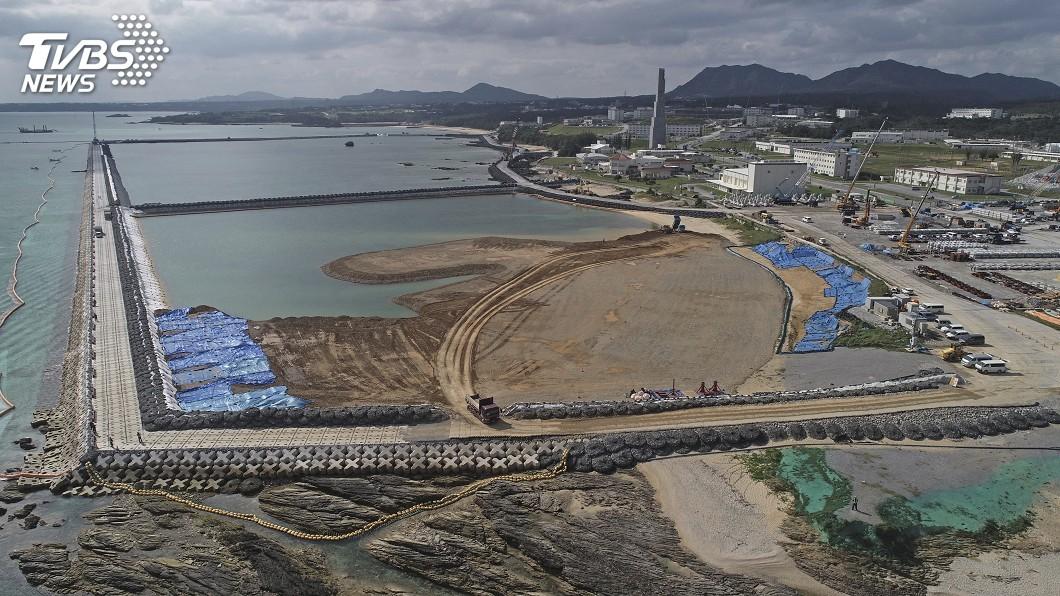 圖/達志影像美聯社 沖繩公投說「不」 美軍基地搬遷問題仍難解