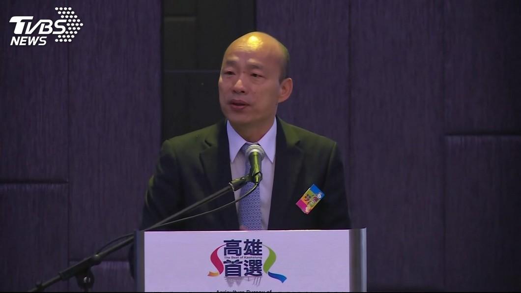 高雄市長韓國瑜。圖/TVBS 韓國瑜賽車夢要成真了?超級房車賽可望引進高雄