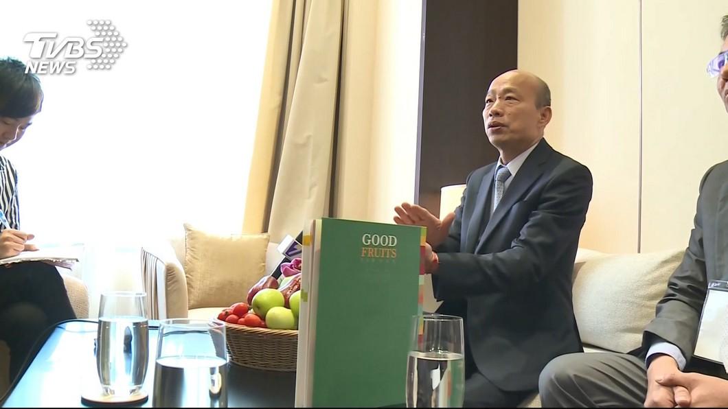 高雄市長韓國瑜。圖/TVBS 真未打壓韓國瑜出訪?資深外交官怒揭「3疑點」