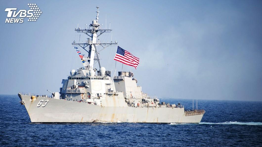 圖/達志影像美聯社 美艦再次穿越台海 維護印太地區自由暢通