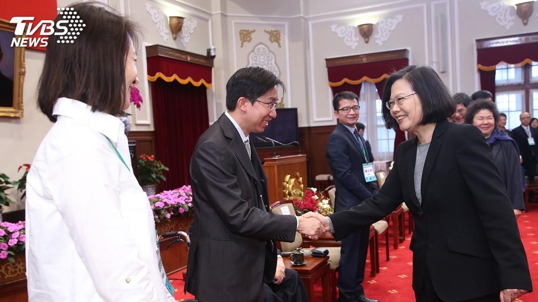 圖/中央社 蔡總統:台灣要走向創新經濟 布局更大市場