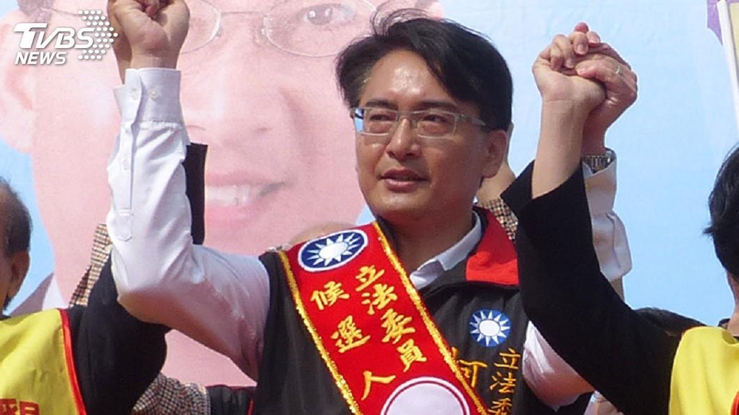 圖/TVBS 彰化立委補選 國民黨柯呈枋自行宣布當選