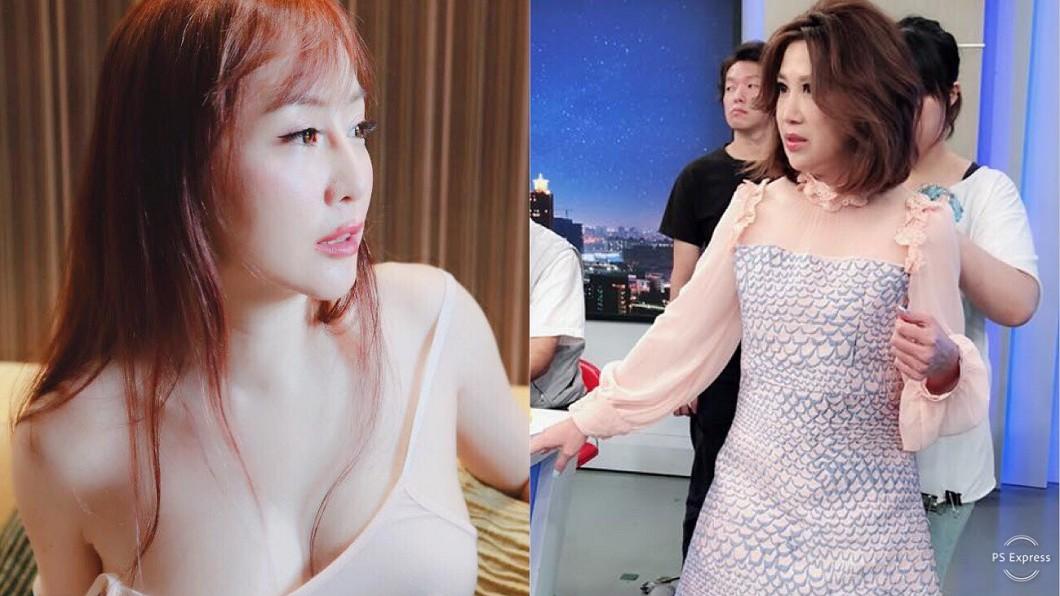 圖/翻攝自T妹、陳斐娟臉書 遭陳斐娟控「雙乳幾乎全露」 T妹被封殺再嗆:不稀罕!