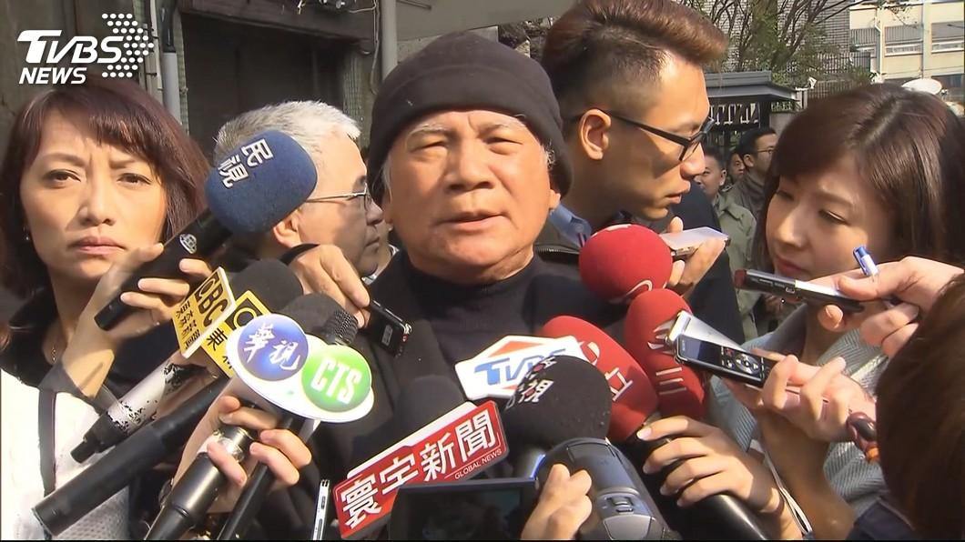 圖/TVBS 蔡正元臉書稱「陛下」 請林義雄移居火力電廠