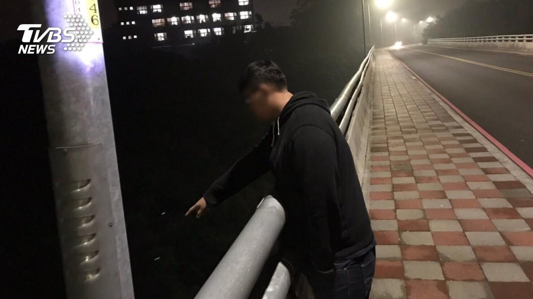 圖/TVBS 想學聖結石惡作劇 3嫌戴面具嚇少女:車裡有WiFi喔