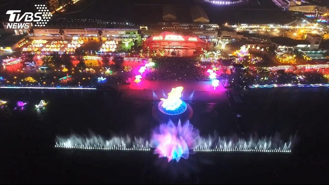 圖/TVBS 台灣燈會位置偏僻遭看衰 3大原因成功翻身