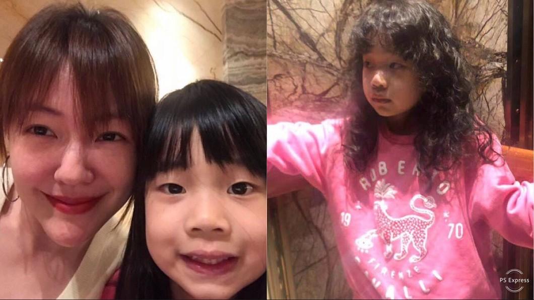 圖/翻攝自小S、獅子合唱團臉書 6歲許老三燙捲髮撞臉「他」!小S老公掌鏡嘴角失守