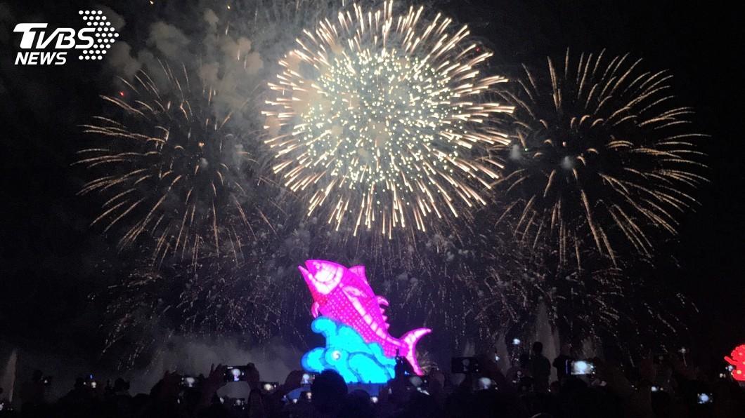 圖/中央社 史上最美台灣燈會閉幕 17天吸引1339萬人次參觀