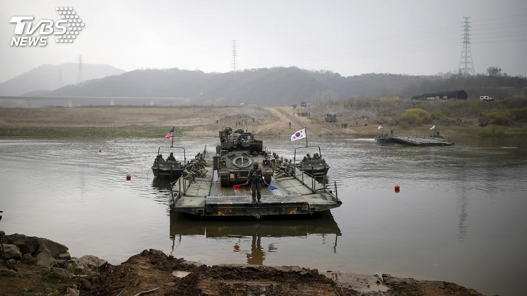 圖/達志影像路透社 川金二會後 韓美今年首次聯合軍演規模大縮水