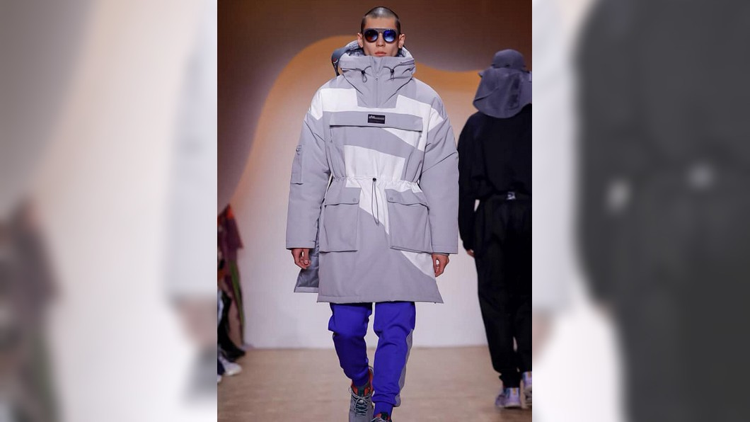 圖/杜威提供 台灣模特兒杜威拚一回! 登紐約時裝週伸展台