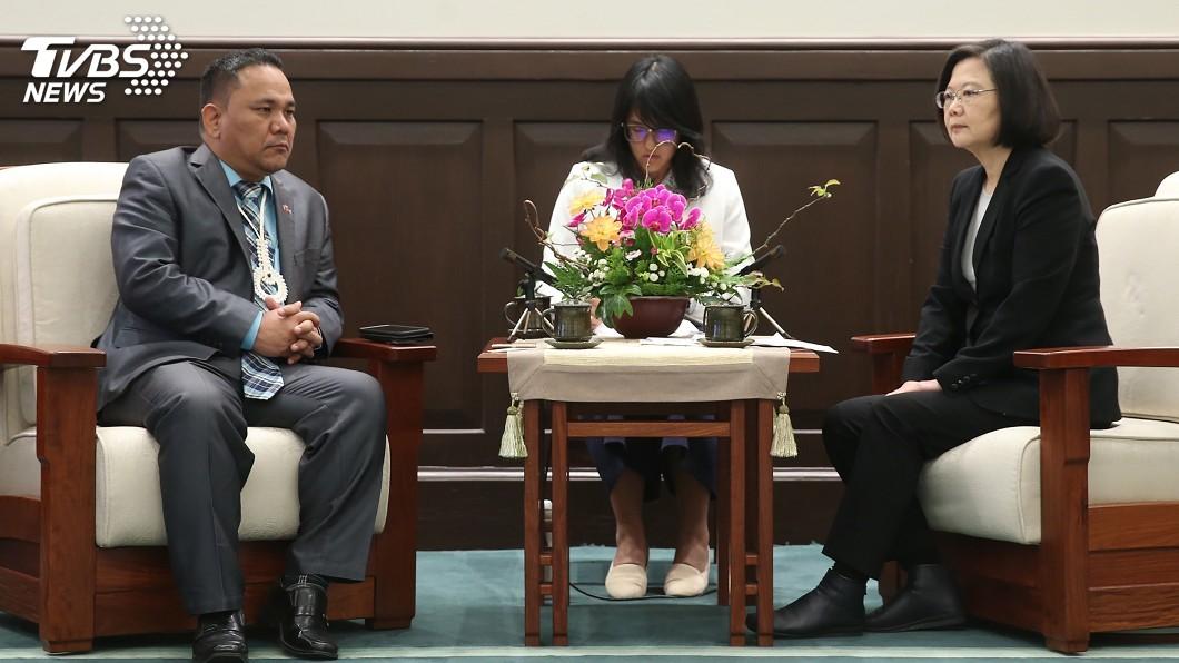 圖/中央社 首度缺席世衛疫苗會議 蔡總統抗議政治考量