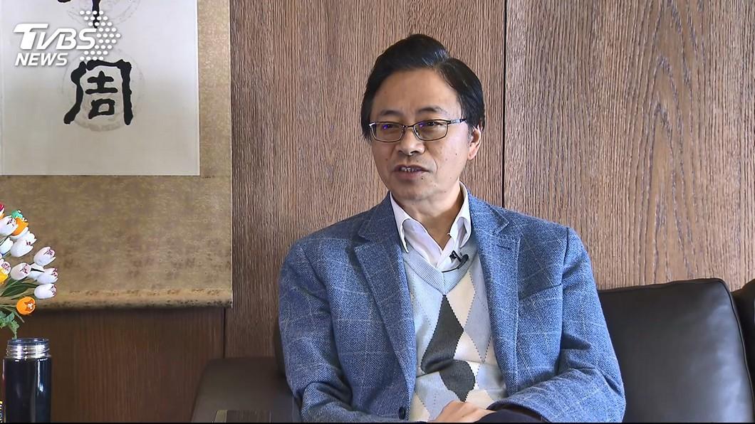圖/TVBS 是否與國民黨合作? 張善政:不排除任何可能