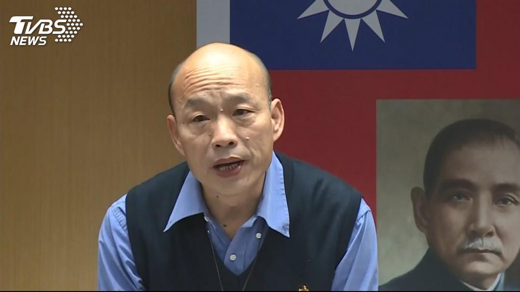 高雄市長韓國瑜。圖/TVBS 若國民黨亂提名 他提4理由:韓國瑜要有獨立參選準備