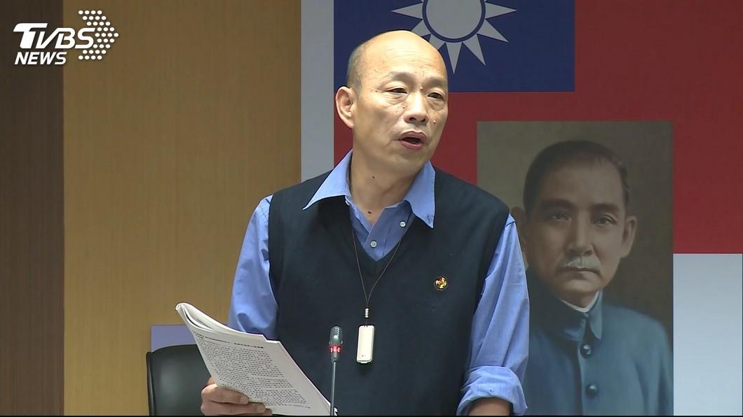 圖/TVBS 接受港媒專訪 韓國瑜沒否定選總統