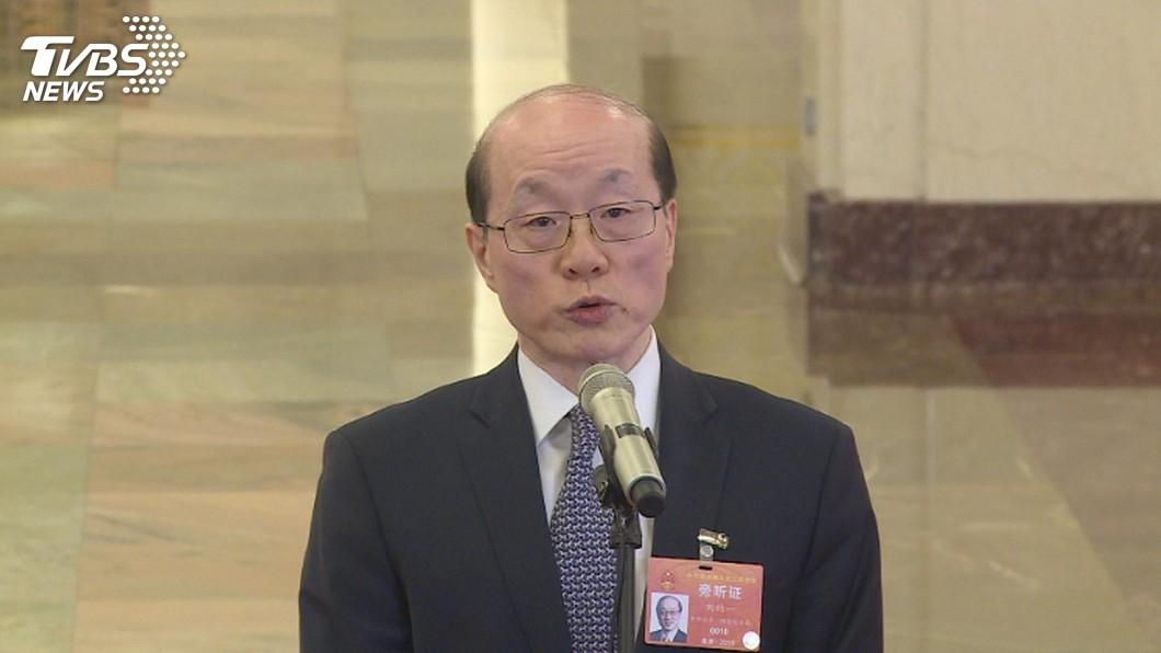 圖/中央社 韓國瑜3月底將登陸 劉結一:歡迎他來