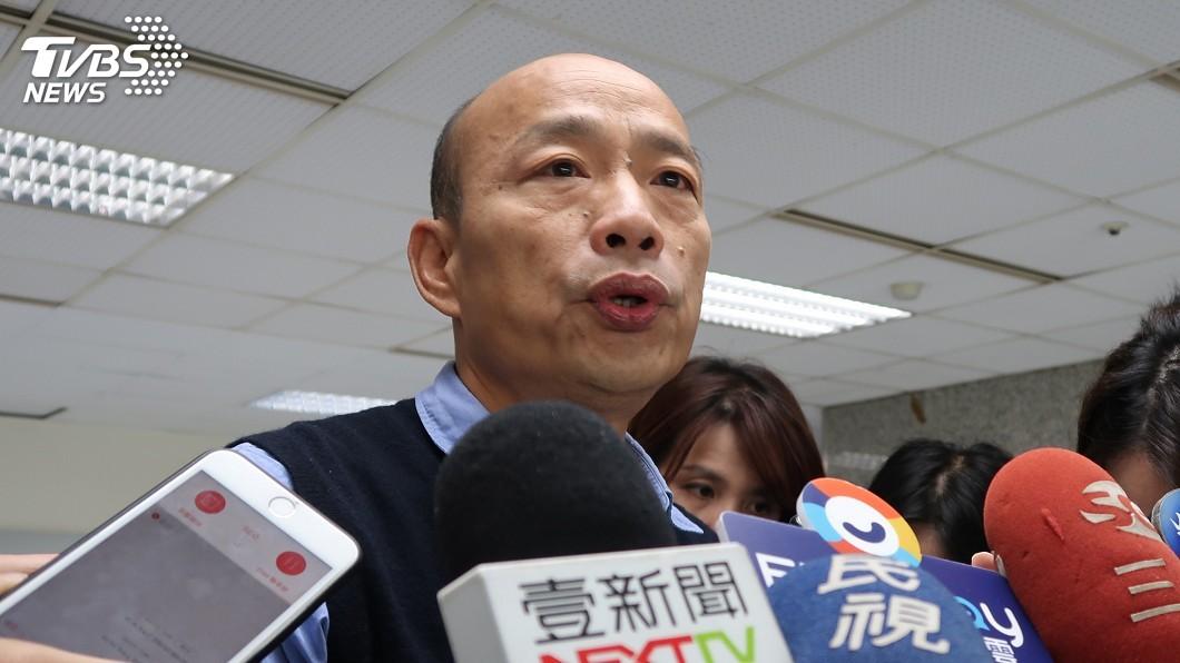 圖/中央社 國民黨北市議員推連署黨代表 籲徵召韓國瑜