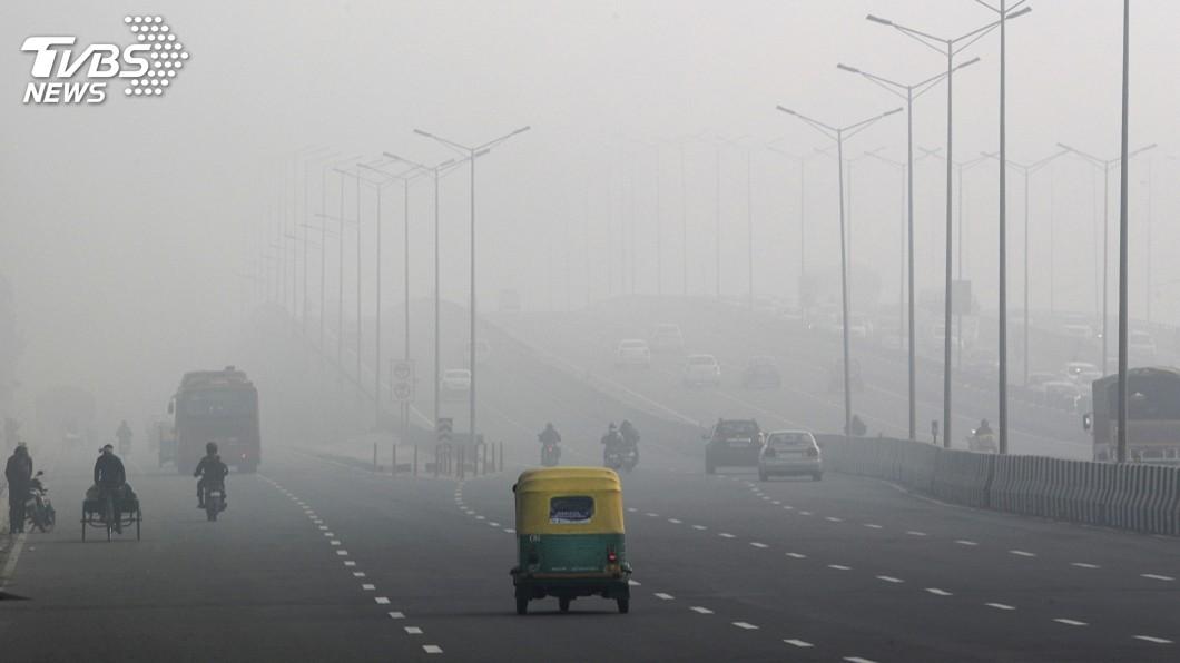 圖/達志影像美聯社 全球空污最嚴重10大城市 其中7個都在印度